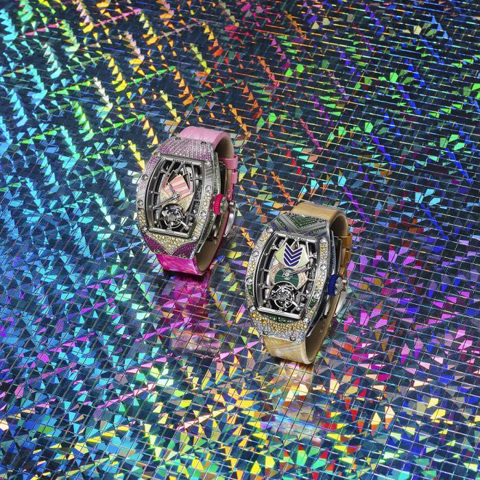 RICHARD MILLE 里查德米尔推出 RM 71-02 Tourbillon Talisman 陀飞轮高级珠宝腕表:宝石护身符