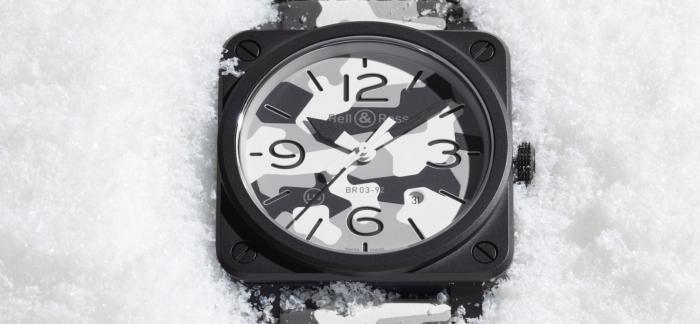 BELL & ROSS推出BR 03-92 WHITE CAMO白色迷彩限量腕表