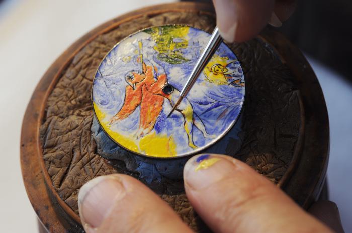 江诗丹顿为卢浮宫专场拍卖会呈献独家合作的 Les Cabinotiers阁楼工匠定制款腕表
