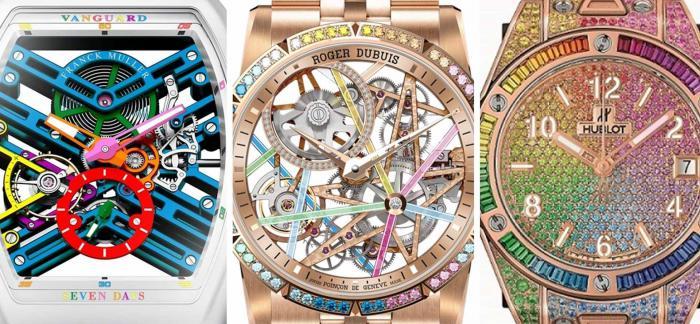 2020年终盘点之7款顶级彩虹腕表