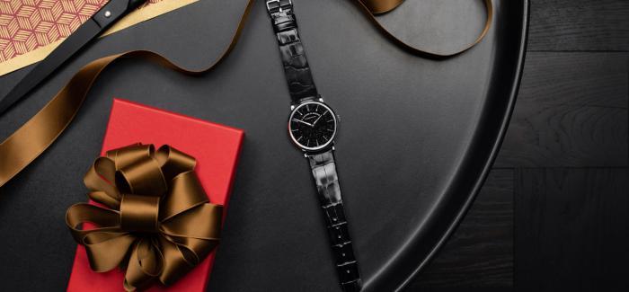 朗格推出的全新SAXONIA萨克森纤薄腕表