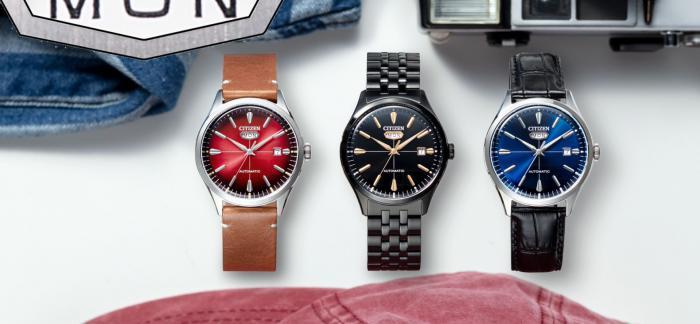 CITIZEN西铁城推出经典机械机芯的C7复刻腕表与PROMASTER钢铁河豚EX