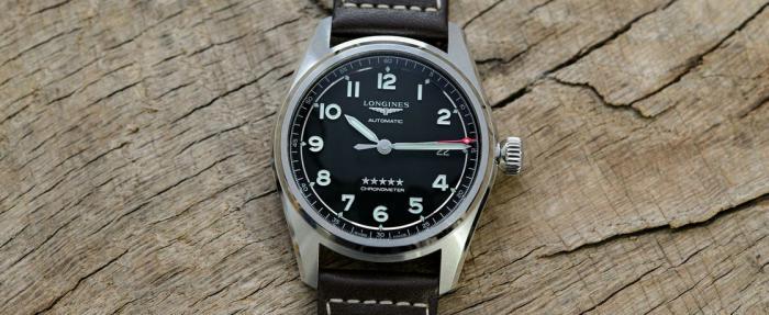 浪琴先行者系列40mm腕表,2万以下飞行员表的最优选