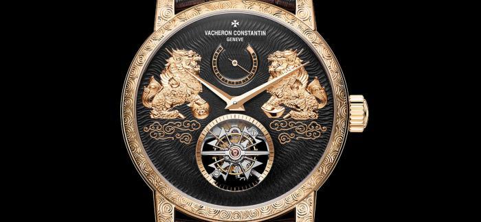 江诗丹顿推出Traditionnelle传袭系列陀飞轮限量版麒麟腕表