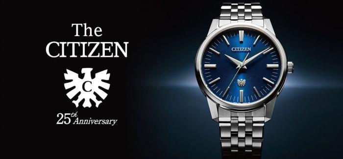 年误差正负1秒!CITIZEN西铁城旗舰系列The Citizen光动能腕表