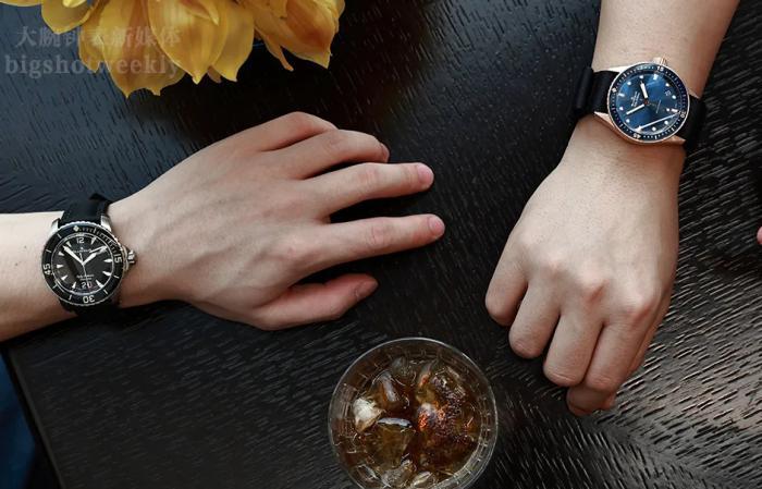 宝珀五十噚,一个人喝上头,两个人喝上手 丨 大腕钟表新媒体原创