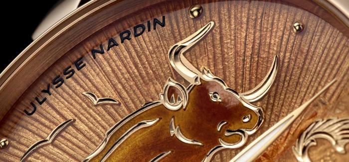 雅典表推出Ulysse Nardin Classico牛年生肖腕表