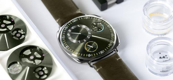 Ressence推出品牌10周年纪念腕表Type 1 Squared X