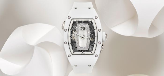 理查德米尔推出全新RM 037白色陶瓷自动上链腕表