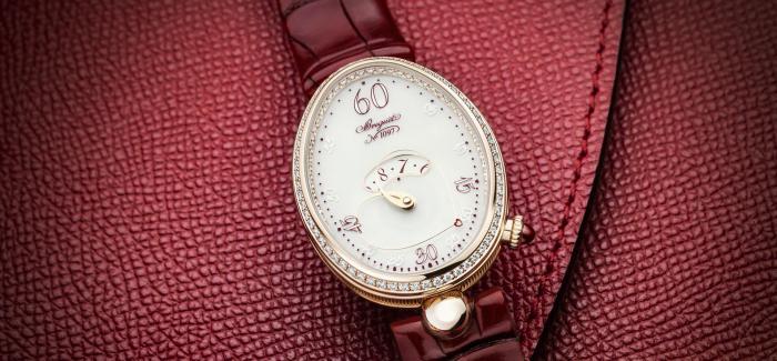 宝玑推出REINE DE NAPLES那不勒斯王后系列之心 限量款腕表