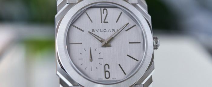【LVMH线上钟表周】宝格丽Octo Finissimo S系列精钢腕表——回归纯色