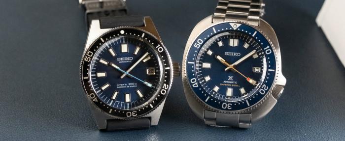 精工Prospex Diver 55周年纪念SLA043J1 & SPB183J1腕表——都挺不错,除了价格