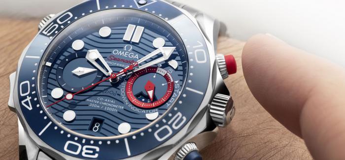 美洲杯帆船赛开赛在即,欧米茄推出Seamaster Diver 300M美洲杯特别版计时码表
