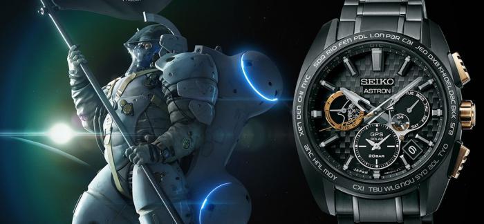 精工与KOJIMA PRODUCTIONS小岛秀夫工作室合作打造Astron GPS Solar手表
