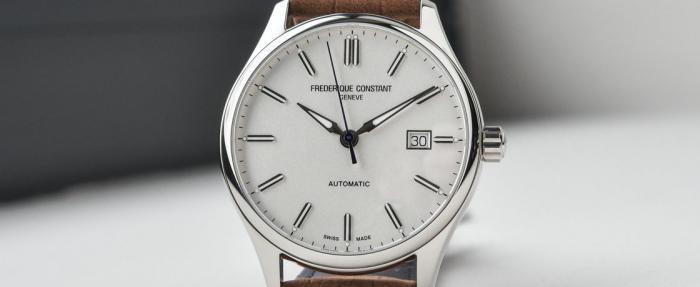 康斯登百年典雅焯见自动腕表——入坑瑞表的第一梯队之选