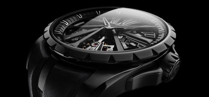 罗杰杜彼推出解构性的崭新时计:Excalibur Diabolus in Machina腕表