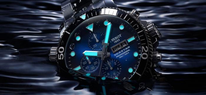 TISSOT天梭推出新款Seastar 1000专业版潜水表