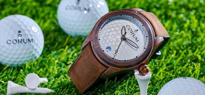 Corum昆仑表推出全新Bubble 泡泡 47 高尔夫青铜腕表