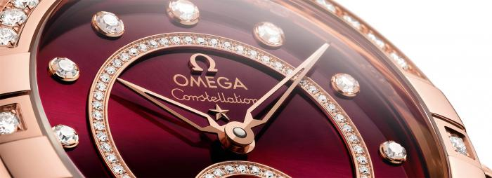 2021年欧米茄新款:星座系列小秒针腕表