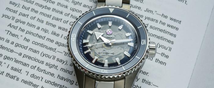 雷达库克船长系列高科技陶瓷腕表——陶瓷库克,震撼人心