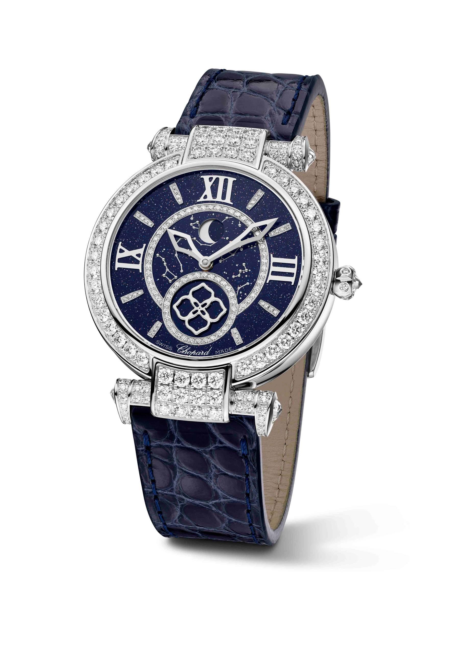Chopard萧邦推出IMPERIALE月相腕表