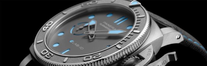 【2021钟表与奇迹】沛纳海推出SUBMERSIBLE潜行系列eLAB-IDTM概念腕表