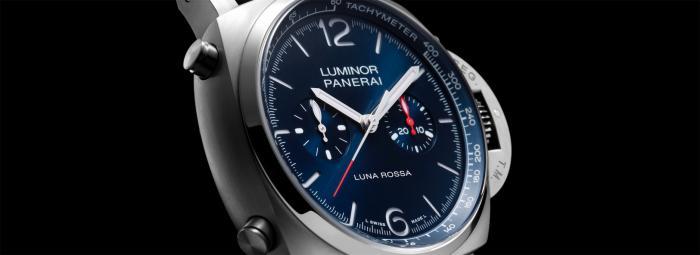 【2021钟表与奇迹】沛纳海Luminor Chrono Luna Rossa庐米诺系列计时腕表