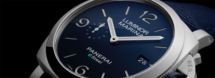 【2021钟表与奇迹】沛纳海LUMINOR MARINA庐米诺系列eSTEELTM腕表