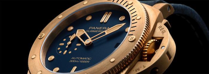 【2021钟表与奇迹】沛纳海UBMERSIBLE BRONZO BLU ABISSO潜行系列青铜腕表