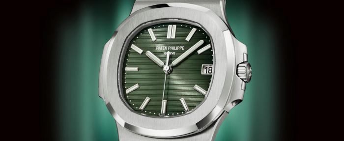 【2021钟表与奇迹】百达翡丽鹦鹉螺5711橄榄绿盘腕表——换个颜色继续称王