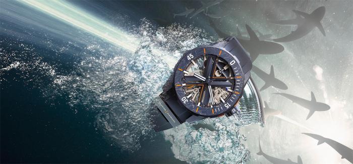 雅典表潜水系列DIVER X 镂空腕表重磅来袭