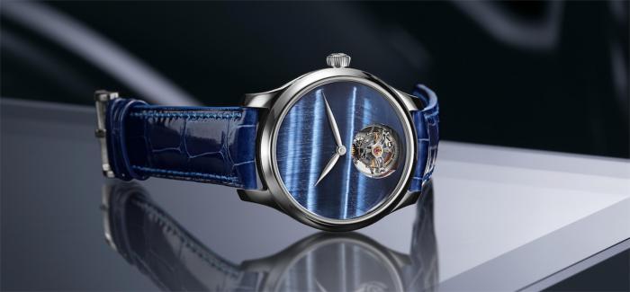 亨利慕时推出勇创者陀飞轮虎眼石概念腕表