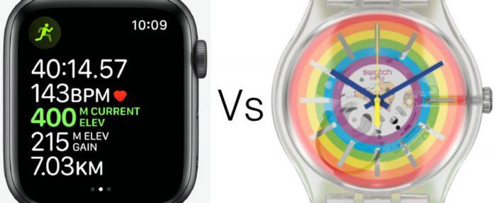 苹果和斯沃琪为什么互相这么瞧不上对方?