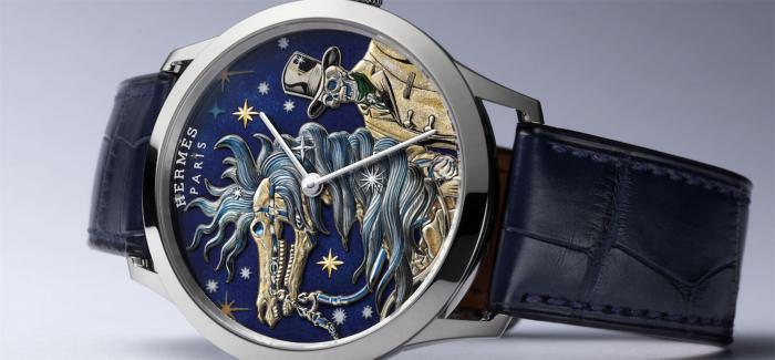 爱马仕推出新款Slim d'Hermès腕表