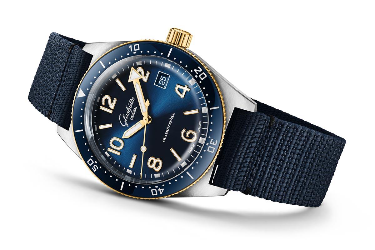 格拉苏蒂原创推出SeaQ新款潜水表