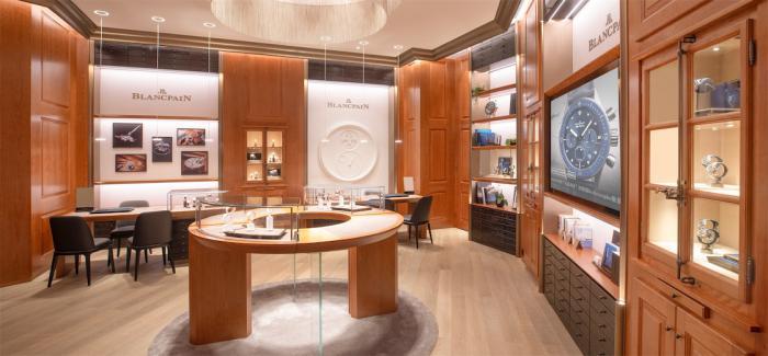 宝珀Blancpain广州首家专卖店于太古汇盛大开幕