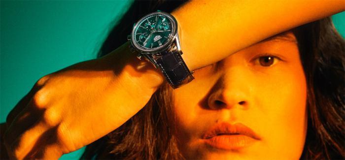 TAG Heuer泰格豪雅正式发布泰格豪雅卡莱拉系列绿色特别版