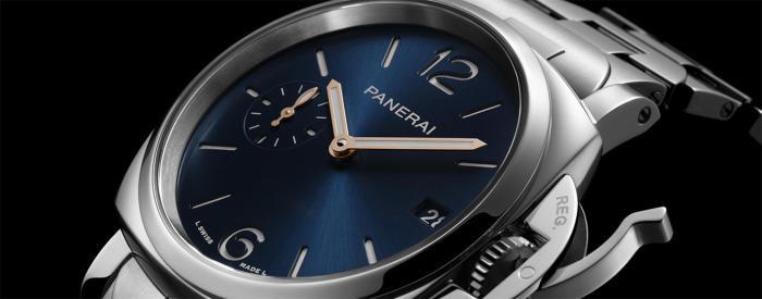 沛纳海PICCOLO DUE庐米诺杜尔系列腕表(PAM01123) & 沛纳海LUMINOR DUE庐米诺杜尔系列腕表(PAM01124)