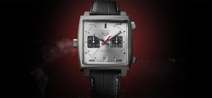 泰格豪雅推出摩纳哥系列钛金属特别版腕表