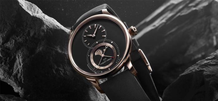 纪念皮埃尔•雅克德罗(PIERRE JAQUET-DROZ)诞辰300周年,雅克德罗推出全新月相大秒针腕表
