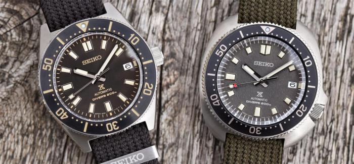 一根表带也能引发革命?SEIKO精工推出全新Prospex Diver's 1965和1970复刻潜水表