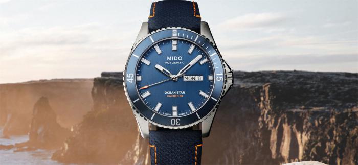 美度推出领航者系列海洋之星红牛悬崖跳水限量版腕表
