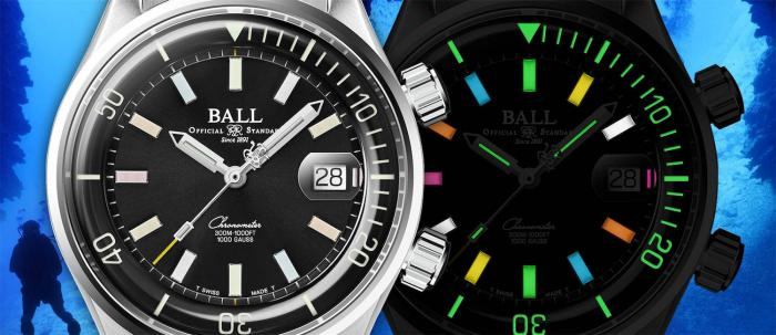 强悍纤薄的潜水时计,专为探索深海而制:BALL Watch Engineer Master II Diver Chronometer