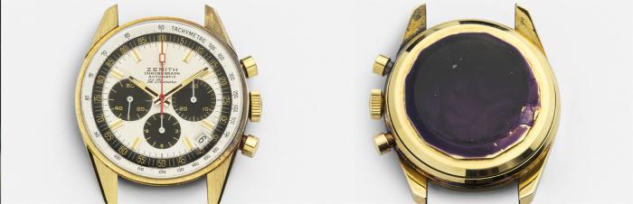 ZENITH真力时典藏腕表系列于线上精品店盛大发布首发作品为在2021年VIVATECH科技创新展会上揭幕的原装G381腕表