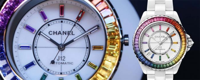 华丽的彩虹腕表-CHANEL香奈儿Electro限定腕表系列