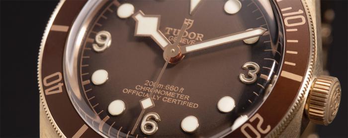 帝舵表隆重推出碧湾1958型青铜款,指定专卖店限定