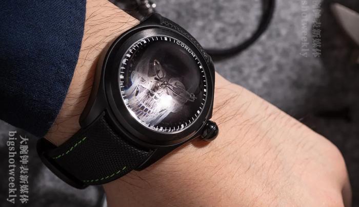 妈呀!没的说了!Corum昆仑表泡泡47毫米X-RAY腕表欣赏,限量88枚 丨大腕钟表新媒体