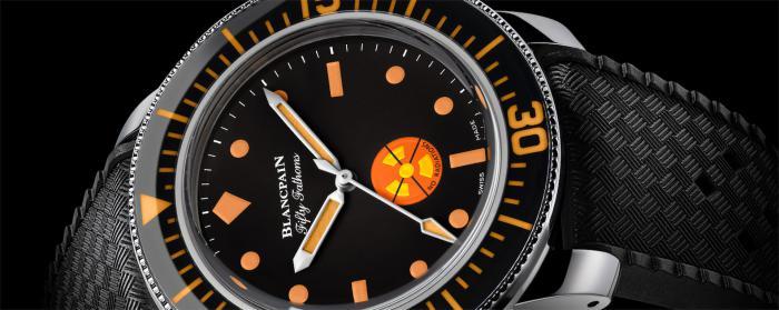 """宝珀Blancpain推出五十噚""""无辐射标记""""复刻款特别定制腕表 鼎力支持Only Watch慈善拍卖会"""