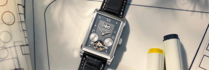 """朗格CABARET卡巴莱陀飞轮""""HANDWERKSKUNST""""腕表,精密制表与艺术形式的巧妙融合"""