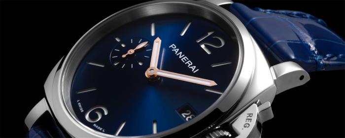 沛纳海推出两枚LUMINOR DUE庐米诺杜尔系列腕表
